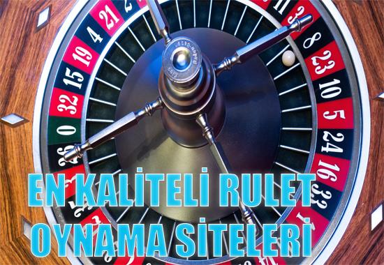 En kaliteli rulet oynama siteleri, en kaliteli yabancı rulet siteleri, Yabancı güvenilir rulet oynama siteleri
