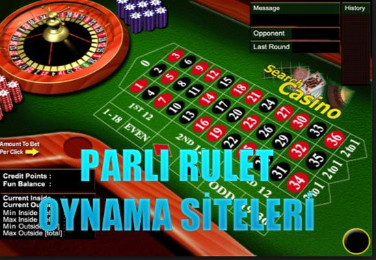 Paralı rulet oynama siteleri, Paralı rulet, Gerçek paralı rulet siteleri